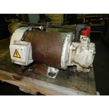 Nachi 5 HP Motor w/ Nachi Pumps VDC-1B-2A3-U-6071B / UVC-1A-2A3-37A-4-6071B