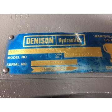 P6P-2R1C-402-A DENISON AXIAL PISTON PUMP