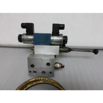 Rexroth Mannesmann Hydraulic Servo  Valve