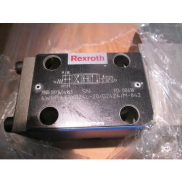 REXROTH 4WRPH 6 XB24L-20/G24Z4/M-842 PROPORTIONAL VALVE