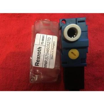 REXROTH/AVENTICS AIR VALVE 5794605270 Origin
