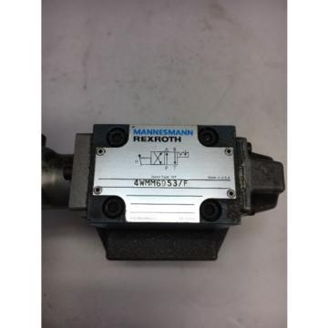 Mannesmann Rexroth 4WMM6D53/F Hydraulic Control Valve Fast Shipping Warranty