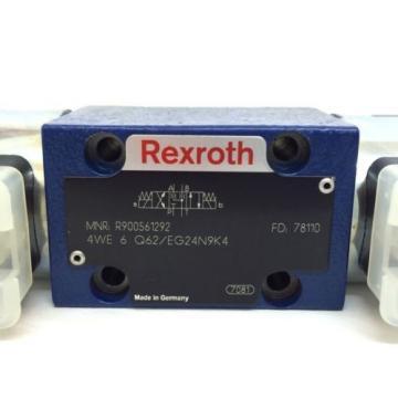 Hydraulic Directional Valve 4WE6Q62/EG24N9K4 Bosch Rexroth 4WE-6-Q62/EG24N9K4