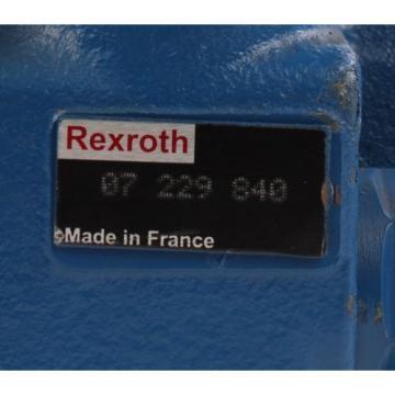 origin 07229840 Rexroth Valve Block