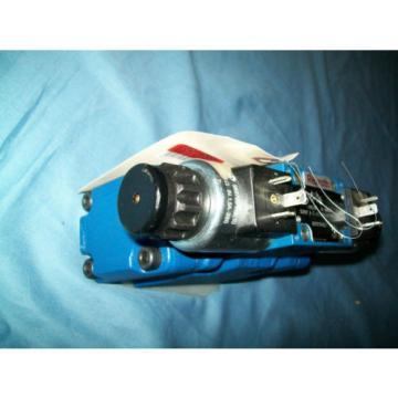 Rexroth R900955887 Hydraulic Proportional Pressure Control Valve 5 Ports 7/16#034;