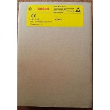 Bosch China Germany Rexroth  CL200 E24V~ 1070075101-305