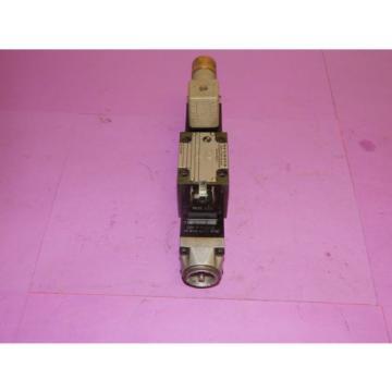 Rexroth 4WE6E52/NZ4 Control Valve 120Volt 60Hz 46VA 4WE6E52NZ4