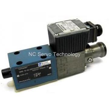 Rexroth Italy Germany DREE10-52/200YG24NK31M Valve Pressure Reducing Rebuilt
