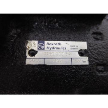 Origin REXROTH HYDRAULIC VALVE 7760-900-641 7760900641