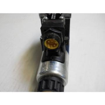 REXROTH 4WE6W61/EG24N9DK25L/62 HYDRAULIC SOLENOID VALVE R978007917 24V   Origin