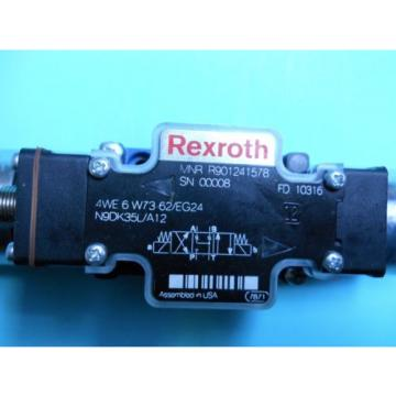 REXROTH R901241578 DIRECTIONAL CONTROL VALVE 4WE6W7362/EG24N9DK35LA12 Origin NO BOX