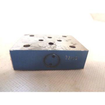 Origin REXROTH ZDR-6-DP0-4 1/40YM-W80 PRESSURE CONTROL VALVE