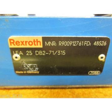 Rexroth R900912761FD 48526 LFA 25 DB2-71/315 Valve origin