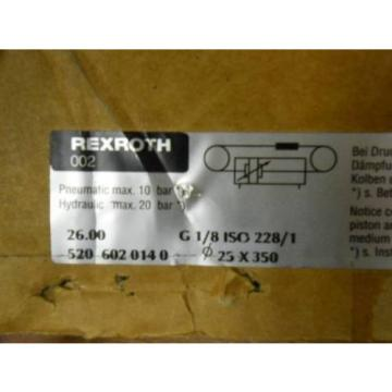 REXROTH TYPE 520/  520-602-0140, 520 602 0140 LINEAR ACTUATOR  origin open box