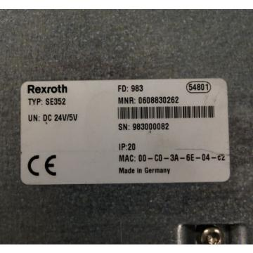 Rexroth Greece Canada SE352, 0608830262 Control Unit