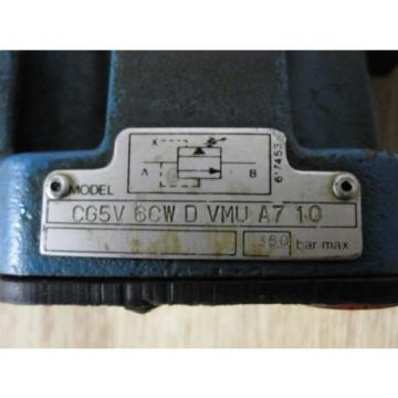 Bespoke Solenoid-Operated Pressure Relief Valve - Vickers/Rexroth