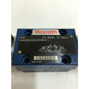 Origin REXROTH HYDRAULIC VALVE 4WE6E62/EG24N9K4/V