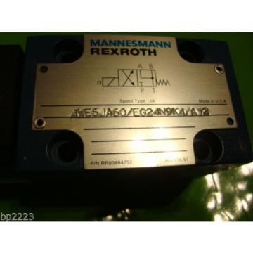 REXROTH 4WE6JA60/EG24N9  Directional Valve GZ45-4-A 424 24V DC 30W MANNESMANN