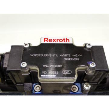 Rexroth Bosch valve ventil 4WRTE-42/M  /  R900891138  +  R900247455   Invoice