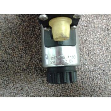 REXROTH  HYDRAULICS 4WE 6 D46-62/OFEG24N9DK 33L Directional Valve USED
