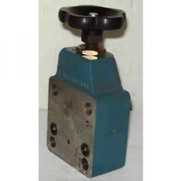 Bosch Rexroth Pilot Relief Valve 0 811 104 008