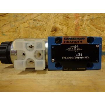 Mannesmann Rexroth Hydraulic Valve 4WE6D60 EG24N9K4