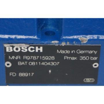 Origin BOSCH REXROTH  0-811-404-607 SERVO VALVE BAT#  R978715943