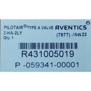 Rexroth R431005019, 2-HA-2LY PILOTAIR VALVE W/ LATCH 1 amp; 2  P59341-1