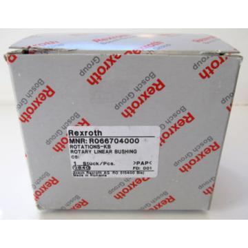 Origin REXROTH ROTARY LINEAR BUSHING BEARING R066704000 40mm ID 80mm L