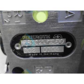 REXROTH 5630201050 VALVE Origin NO BOX