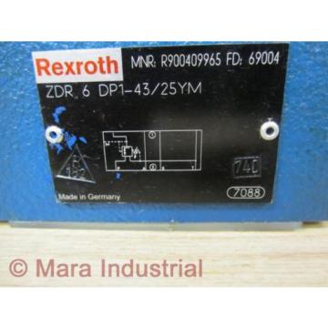 Rexroth Bosch R900409965 Valve ZDR 6 DP1-43/25YM - origin No Box