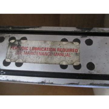 REXROTH LINEAR SLIDE CUSTPART-75