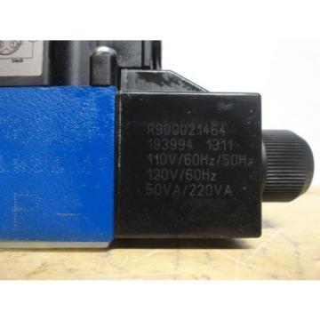 Rexroth ~ Directional Control Valve ~ Model 4WE6J62/EW110N9DK25L/62 ~ Origin NO BOX