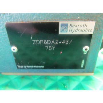 Rexroth Valve ZDR6DA2-43/75Y