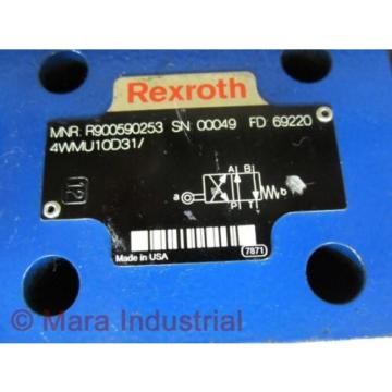Rexroth Bosch R900590253 Valve 4WMU10D31/ - origin No Box