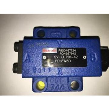 Rexroth SV 10PB1-42 Pilot Check Valve R900467724