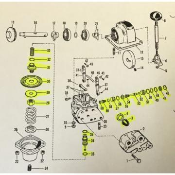 Rexroth H Controlair Valve Repair Kit P64894-2