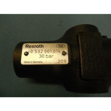Origin BOSCH REXROTH HYDRAULIC THREADED PRESSURE RELIEF VALVE  0 532 001 014 209