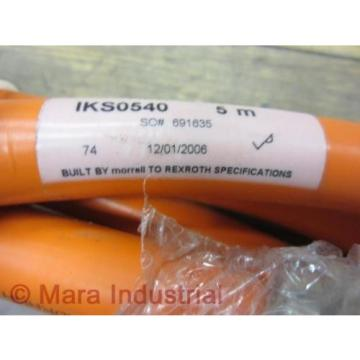 Rexroth Singapore Russia IKS0540 Cable - New No Box