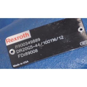 Origin BOSCH REXROTH R900349889 VALVE DR20G5-44/100YM/12