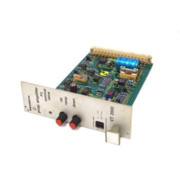 MANNESMANN Dutch Australia REXROTH VT2000S41 AMPLIFIER CARD VT 2000