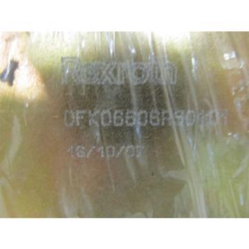 Rexroth 0FK06606RS0101, 26 vdc Valve Block