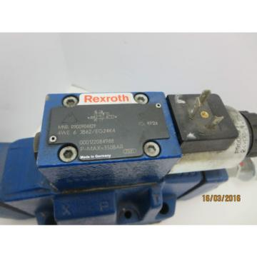 Rexroth  H-4WEH 16 U10B71/6EG24K4QM0G24 Monitored Directional Valve