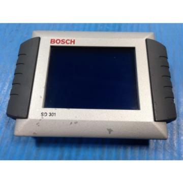 USED Canada Dutch BOSCH REXROTH SD301 TOUCHSCREEN OPERATOR DISPLAY 24V-150mA 0608830194 (U4)