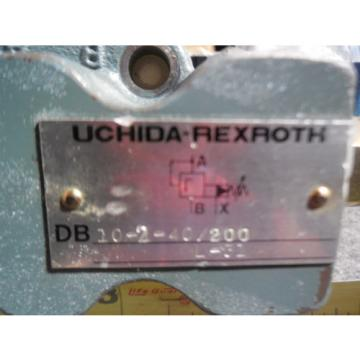 Origin UCHIDA REXROTH RELIEF VALVE # DB10-2-40/200 L-31