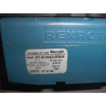 REXROTH CERAM GT-010042-00909 VALVE USED