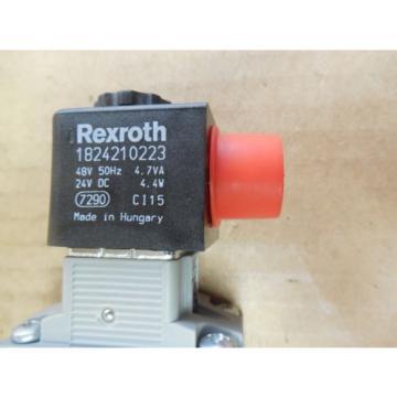 Rexroth Double Solenoid Valve 0820 023 992 0820023992 143 PSI 24 VDC origin