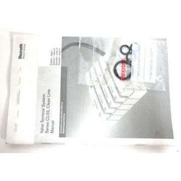 NEW Russia Japan REXROTH BOSCH R480033282 VALVE TERMINAL SYSTEM SER. CL03 CLEAN LINE